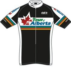 Tour de Alberta, maillot negro !