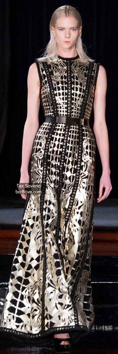 The Best Gowns of Fall 2014 Fashion Week International: Tex Saverio FW 2014 #ParisFashionWeek