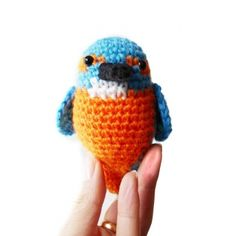Kingfisher Amigurumi Pattern amigurumi pattern by MysteriousCats