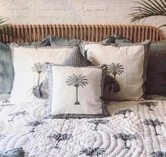 Cushions On Sofa, Bed Pillows, Living Room Sofa, Cushion Covers, Pillow Cases, Boho, Luxury, Grey, Cotton