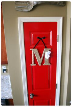 like the different color for a pantry door