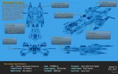 """The """"Tygre's Tale"""" is a Roberts Space Industries Constellation Mk III.  Maximum crew complement of four."""