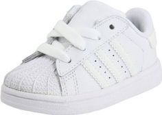 Adidas Superstars for your infant/toddler! $44 #superstars