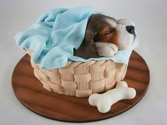 Torta cachorro beagle