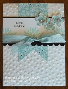 Tuesday, February 4, 2014 StampLadyKatie.com: Layers with Petite Petals Stamps and Matching Punch