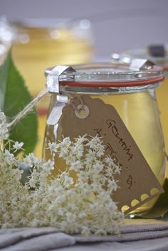 gelatina ai fiori di sambuco Elderflower, Preserves, Mousse, Jelly, Cooking, Desserts, Food, Anna, Crochet