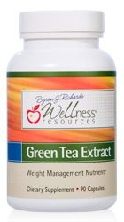 Wellness Resources Green Tea Extract is high in polyphenols, flavonoids, EGCG, and catechins, the most beneficial components of green tea. Green tea supports weight management, antioxidant processes, cholesterol and insulin function.