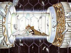"Syaoran and Sakura from ""Tsubasa Reservoir Chronicle"" by CLAMP"