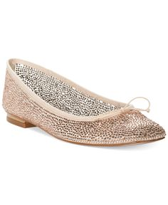 Adrianna Papell Zoe Evening Ballet Flats - Evening & Bridal - Shoes - Macy's (Color: Blush, Size: 8.5)