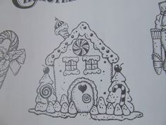 Candyland stamp set (D1557) for Christmas. I can paint the darling house and toy soldier and gingerbread boy!  Use my watercolor pencils and blending pen from Close to My Heart!