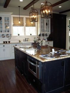 BIA Parade of Homes kitchen via Lindsey at Thrift and Shout blog