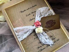 High end Wedding Invitation / Tea Party / Alice in by cuteNtrendy