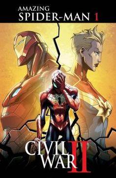 Portada de Civil War II: Amazing Spider-Man #1, obra de Khary Randolph