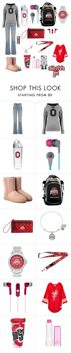 """osu"" by slytherinbeauty ❤ liked on Polyvore featuring The Seafarer, Tervis, Skullcandy, UGG, Vera Bradley, Alex and Ani, Jack Mason, aminco, Mizco and e.l.f."