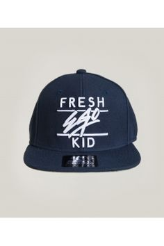 b142905cf38 Fresh Ego Kid - Navy White Snapback