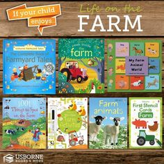 Are your kids interested in Farming, or learning about it? These Usborne Books are a Must! http://www.DaniellesBooks.com