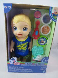 New Baby Alive Doll Super Snacks Luke Boy Food Poops Baby Alive Baby Alive Food Baby Alive Dolls