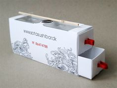 Smart thinking sushi #packaging by Mille Rubow Vestergård, via Behance PD
