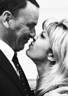 Frank and Nancy Sinatra.