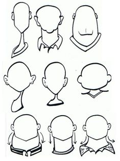 How to Draw Caricatures of People | Goes Indra Sport: Face