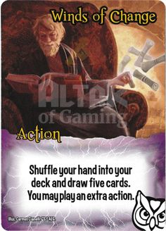 Winds of Change - Wizards - Smash Up Card | Altar of Gaming