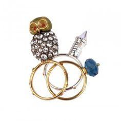 les nereides fantachic-triple-ring-owl-and-castle