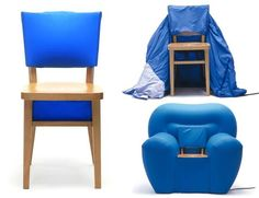 Cadeira transforme. Multifunctional, Bean Bag Chair, House Design, Furniture, Home Decor, Chairs, Wing Chairs, Home, Trends