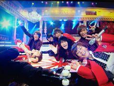 """Kis-My-Ft2 """"Unmei girl""""運命girl Hiromitsu Kitayama Kento Senga Toshiya Miyata Wataru Yokoo Taisuke Fujigaya Yuta Tamamori Takashi Nikaido"""