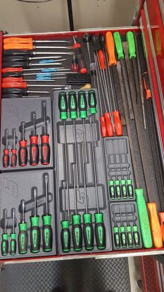 Snap On screwdrivers.