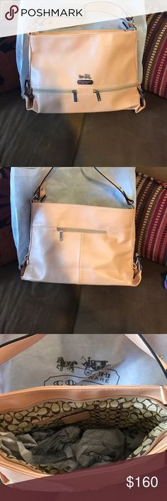Brand new coach bag Brand new with tags . Never carried . Purchased but it wasn't exactly what I was looking for . Coach Bags