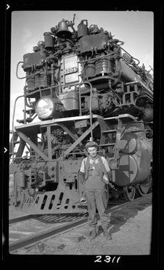 Beautiful image of a locomotive