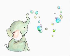 elephant's bubbles