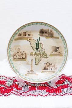 Decorative State Plate  Moldova   sc 1 st  Pinterest & Romania Souvenir Porcelain Collectible Decorative Plate | Romania ...