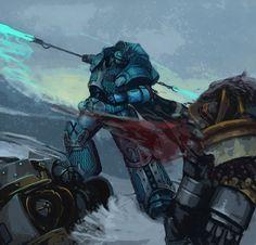Alpharius Omegon - Primarch of the XX Legion. by Advisorium on DeviantArt