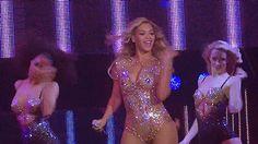 Beyoncé Performing Blow At O2 Arena London 2014