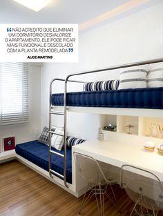 13 dicas para projetar seu apartamento pequeno - Casa