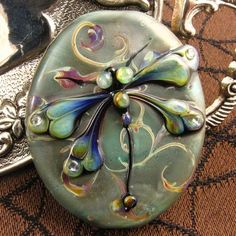 Dragonfly, created by amazing, talented glass artist Kerri Fuhr