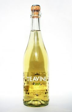 I found a wine at the grocery store called Teavine. It describes itself as a green tea, white wine and honey infusion. It was lightly carbonated, barely sweet, and completely delightful!