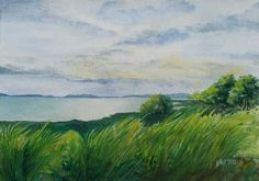 'Overlooking Laguna de Bay' By Yet Watercolor Painting