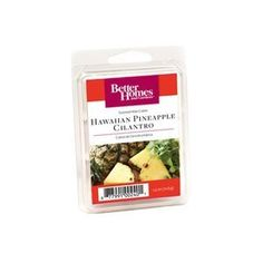 Introducing Better Homes and Gardens Hawaiian Pineapple Cilantro Scented Wax Cubes. Get Your Ladies Products Here and follow us for more updates!