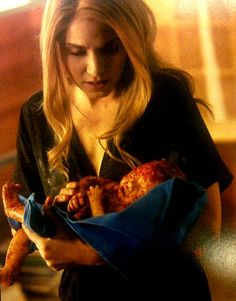 Breaking Dawn Part 1. Rosalie and Renesmee