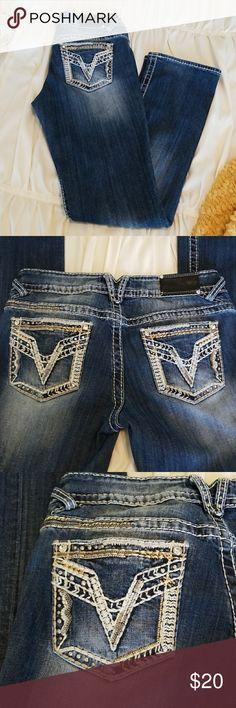The Chelsea VIGOSS jeans - slim boot The Chelsea- Slim Boot VIGOSS jeans. Size 7/8. Length 33. Never dried in the dryer, so no shrinkage. Vigoss Jeans Boot Cut