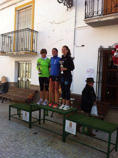 Tere, 2º femina san silvestre Castril 2015