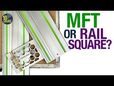 Square cuts: MFT or Rail Square? [video 422][Gifted/Ad**] - YouTube Workbench Vice, Workbench Ideas, Rail Saw, Circular Saw, Workshop, Ads, Youtube, Gifts, Atelier