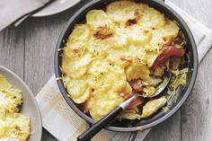 29 januari - Zuurkool in de bonus - Lekker voor koude dagen: ovenschotel met zuurkool en zoete stoofperen - Recept - Allerhande
