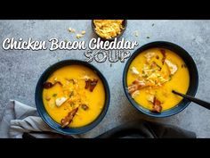 This easy Bacon Soup recipe is rich with cheddar and hearty with chunks of chicken and crumbled bacon! Start The Keto Challenge RIGHT NOW. Ketogenic Recipes, Low Carb Recipes, Cooking Recipes, Chicken Soup Recipes, Recipe Chicken, Keto Chicken, Chicken Bacon, Bacon Soup, Keto Soup