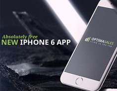Here's an OptimaSales app designed for iPhone 6 users, which you can doenload here http://freebies.designzway.com/optimasales-iphone-6-app/ This freebie was carefully crafted in one style with new version of OptimaSales PSD template. This app is a nice b…