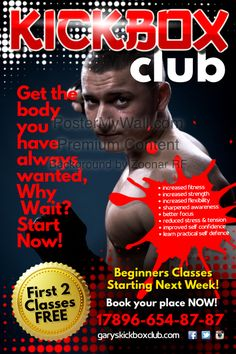 gym advertisement poster flyer social media graphic design template