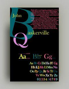 Typography Project Baskerville Font