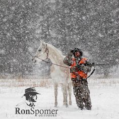 I see it coming. #flurries #snowday #hunting #mountains #forest #horses #whiteout #ronspomeroutdoors